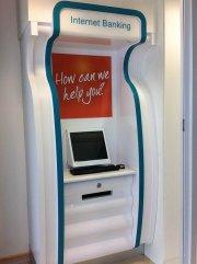 boks z internetową bankowością