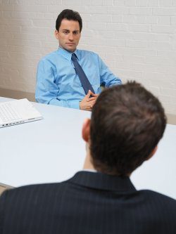 rozmowa z pracownikiem