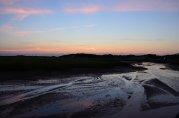 Zachód słońca nad polskim morzem