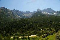 przepiękny widok z Nowego Targu na Tatry